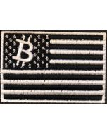Bitcoin American Flag Patch